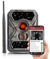 SECACAM HomeVista mobile - Wildkamera mit SIM-Karte, sendefähig (GPRS, GSM, EDGE) mit Handy-Übertragung & App, sofort einsatzbereit