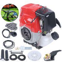 4-Takt 44CC Seitenmontage Motor SET Fahrrad Benzin Hilfsmotor Einzylinder Luftgekühlt 44,8km/h