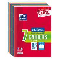 7 Notebooks Klammern 96 pro 24x32cm