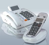 Humantechnik Scalla 3 Combo Großtasten-Verstärkertelefon weiß