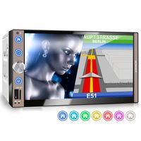XOMAX XM-2VN767 2DIN Navi Autoradio mit GPS, SD, USB und BLUETOOTH
