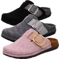 Rohde Damen Pantoffeln Hausschuhe Rodigo-D 6197, Größe:40 EU, Farbe:Grau