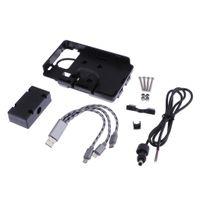 Motorrad USB-Ladegerät Handyhalter Standhalterung GPS Halter für BMW R1200GS