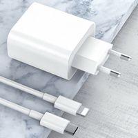 Handy Ladegeräte Type-C Schnellladegerät USB-C Fast Charger PD Power Adapter Für iPhone 12 Pro Max 12 Mini 11 XS XR 18W Type-C Wall