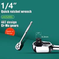 "1/4"" 3/8"" 1/2"" 48T Ratsche CR-V Socket Spanner -(1 月 4 日,)"