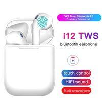 i12 TWS Touch Key Mini Drahtloser Kopfhörer Bluetooth 5.0 Headset für Android xiaomi Iphone