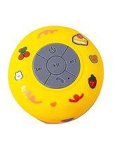 Wasserdichte drahtlose Bluetooth Kleine Audio Saugnapf Badezimmer Mini Universal Lautsprecher Gelb