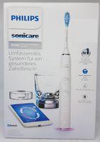 Philips HX9901/03 Sonicare Diamondclean Smart 9100 Elektrische Schallzahnbürste, App, Weiß
