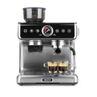 Espressomaschine Siebträger Maschine Barista Kaffee Mahlwerk Milchaufschäumer