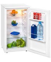 Exquisit Kühlschrank KS 85-9 RV | 82L Fassungsvermögen | Energieeffizenz+ | Weiß