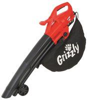 Grizzly Tools Elektro 3in1 Laubsauger Laubbläser Häcksler EL 2800 Blasgeschwindigkeit 270 km/h 2800 Watt