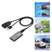 4K 1080P WiFi HDMI Wireless Display Dongle Converter AV Adapter Kabel, Einfach