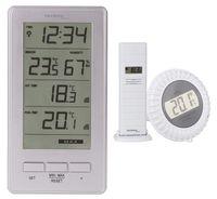 Funk-Poolthermometer WS 9069 IT Technoline Teichthermometer Wasserthermometer Digital inkl. Zusatzsender für die Aussentemperatur