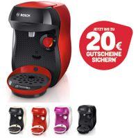Bosch TASSIMO Happy + 20 EUR Gutscheine* Heißgetränkemaschine Kapseln, Farbe:Lila