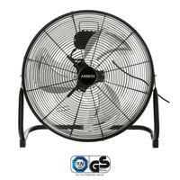 AREBOS 20 Zoll Bodenventilator Windmaschine Hallenlüfter Werkstattlüfter 120 W