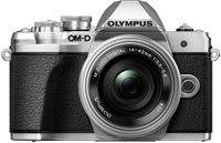 Olympus E-M10 Mark III + 14-42mm 3.5-5.6 II R Kit Silber