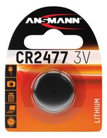 ANSMANN Lithium Knopfzelle CR2477 3 Volt 1er Blister