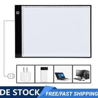A4 Zeichenblock Leuchttablett Leuchttisch USB Stufenlos Dimmbar LED Lichtbox Art Tattoo Zeichnungskopie DE