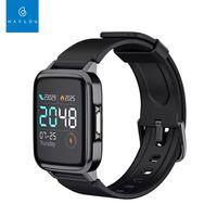 Xiaomi Globale Version Haylou LS01 Smartwatches Herzfrequenz Fitness Tracker IP68 Wasserdichtes Armband 210mAh 14 Tage Standby Mi Smartwatch LS01 fuer Android iOS Phone