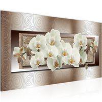 WANDBILDER XXL BILDER Blumen Orchidee VLIES LEINWAND BILD KUNSTDRUCK 205414P