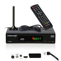 PremiumX FTA 540T Full HD Digital DVB-T2 Receiver USB SCART HDMI Antenne