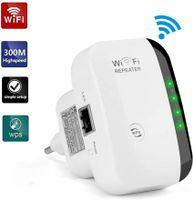 300 Mbit/s WIFI Repeater EU WLAN Signal Verstärker Access Point Wifi Booster Neu