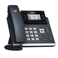 Yealink SIP-T41S SIP-Telefon mit LCD-Display [6 SIP-Konten, 6 programmierbare Tasten]