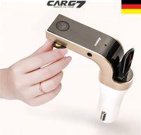 Auto Bluetooth FM Transmitter KFZ MP3 Musik Player Freisprechanlage USB TF AUX autoradios