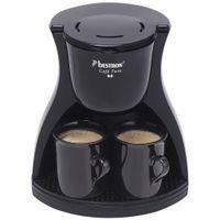 Bestron ACM8007BE Kaffeemaschine mit 2 Tassen 450 W