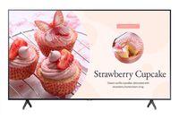 "Samsung be70t-h 177,8 cm (70"") led 4k ultra hd digital signage flachbildschirm grau eingebauter prozessor"