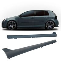 2 JOM Seitenschweller VW Golf 5 Limousine GTI-Look Schweller komplett ABS