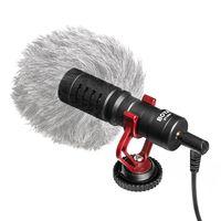 BOYA 3.5mm Mini Niere Mikrofon Metall Elektret Kondensator Video Mic Stecker