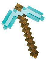 Sonstige Minecraft Diamant Spitzhacke Kunststoff Replik 40 cm DSG65685