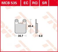 Lucas Bremsbelag Satz MCB535EC