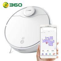 2021 Neu 360 S6 Pro ( 360 S9 ) Intelligent Saugroboter Automatischer Staubsauger Roboter Automatische Roboterstaubsauger-Kehrrobotermaschine Weiß