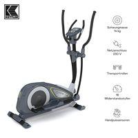 KETTLER® Crosstrainer Nova P | 14 kg Schwungmasse | 12 Trainingsprogramme | 16 Widerstandsstufen | Magnetbremssystem | Transportrollen | Hohe Gewichtsbelastung von 130kg | Handpulssensoren