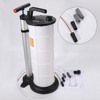 Öl-Umfüllpumpe Handpumpe Absaugpumpe 9L Ölsauger Pumpe Absaugen Einfüllen Ölabsaugpumpe manuell Ölpumpe DHL mit 3 Rohren