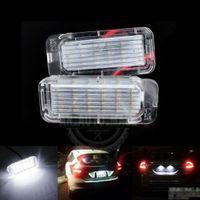 2X LED Kennzeichenbeleuchtung für Ford Fiesta Focus Galaxy S-MAX C-Max MKII Kuga Mondeo Ranger S-MAX Jaguar XF 5105886 / 1423046 / 1504964 / 6M2A-13550-AA, 6M2A-13550-AB, 6M2A-13550-AC