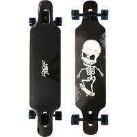 New Sports Longboard Skull, Länge 41 cm, ABEC 9