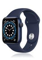 Apple Watch Series 6 GPS 44mm Blue Alu Case Navy Sport Band
