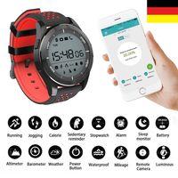 F3 Smartwatch Höhenmesser Barometer Smartband Wasserdicht bis 30m Sportuhr
