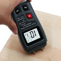 LCD 0-99.9% Feuchtemessgerät Feuchtemesser Feuchtigkeitsmessgerät Holzfeuchte