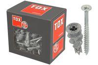 TOX Gipskartondübel GD 37-4, 37 mm (VPE 50) mit Senkkopfschraube 4,5 x 50mm