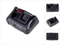 Bosch GAX 18 V-30 Professional Akku Doppel - Ladegerät für 10,8 / 12 V und 14,4 / 18 V Akkus