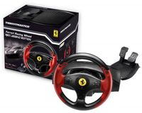 Thrustmaster Ferrari Racing Wheel Red Legend PS3 & PC Steering Wheel + Pedals PC, Playstation 3 Black, Red