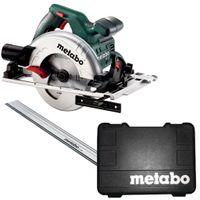 Metabo Set Handkreissäge KS 55 FS im Koffer + 1600 mm Führungsschiene FS 160