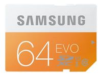 Samsung MB-MP64D SDXC EVO Class 10 UHS-I SDXC Speicherkarte, 64 GB, UHS-I