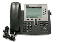 Cisco IP-Phone 7960G Telefon, Rufnummernanzeige, Freisprechfunktion, VoIP, Ethernet