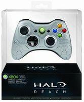 Xbox 360 - Halo Reach Wireless Controller Silber