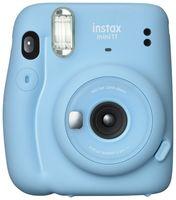 Fujifilm instax mini 11 Sky-Blue Sofortbildkamera Miniformat Selfie-Spiegel